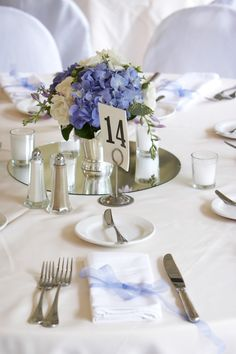 #Pastel blue wedding ... Hydrangea blue wedding flowers  for wedding bouquet... Wedding ideas for brides, grooms, parents  planners ... https://itunes.apple.com/us/app/the-gold-wedding-planner/id498112599?ls=1=8 … plus how to organise an entire wedding ♥ The Gold Wedding Planner iPhone App ♥