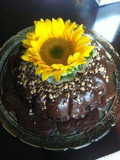 Chocolate Kahlua Heath Bar Cake