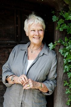 """I think you should take your job seriously, but not yourself ~ that is the best combination."" Dame Judi Dench"