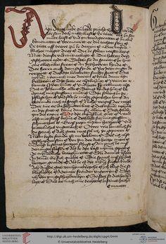 Cod. Pal. germ. 4 Rudolf von Ems: Willehalm von Orlens ; Dietrich von der Glesse: Der Gürtel (Borte) ; Peter Suchenwirt: Liebe und Schönheit u.a. — Schwaben/Grafschaft Oettingen (?), 1455-1479 213V