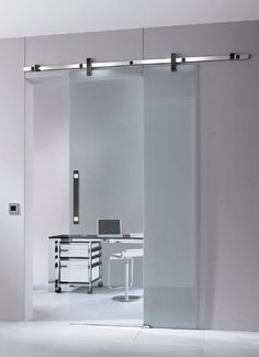 Acid Etched Glass Doors by Vitrealspecchi  White Telephone Look