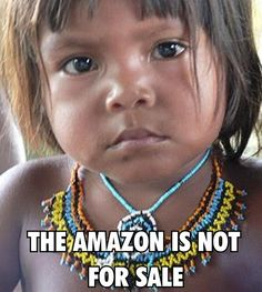 Criança indígena do Amazonas