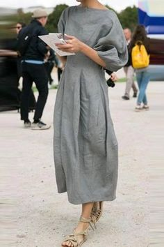 Linen Solid-Casual-Half-Sleeves-Maxi-Dress - shopingnova - Linen Solid-Casual-H. - - Linen Solid-Casual-Half-Sleeves-Maxi-Dress – shopingnova – Linen Solid-Casual-Half-Sleeves-Maxi-Dress – shopingnova Source by – Source by NoreneOfficial Midi Dress With Sleeves, Half Sleeves, Types Of Sleeves, Short Sleeves, Maxi Dress Summer, Summer Dresses, Look Fashion, Womens Fashion, Female Fashion