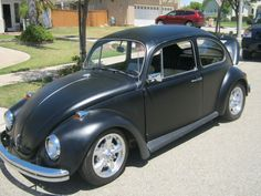 My 68 Beetle. Pretty cool ride. Wide 5 kit, disc brakes, runs like a top!