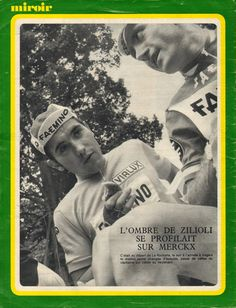 Tour de France 1970. 2^Tappa, 28 giugno. La Rochelle > Angers. Eddy Merckx (1945) è in maglia gialla alla partenza da La Rochelle.  La dovrà cedere al termine della tappa al suo luogotenente Italo Zilioli (1941) [Miroir Sprint]