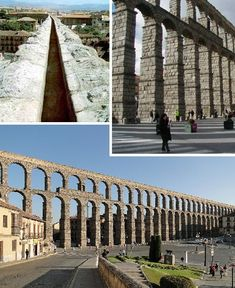 The Aqueduct of Segovia is one of the best-preserved Roman aqueducts in Spain. So well-built was the aqueduct and so studious its maintenance through the Middle Ages that it functioned as a viable water delivery system well into the 20th century. The aqueduct features a total of 167 arches and the granite blocks used in its construction were assembled without the use of mortar.