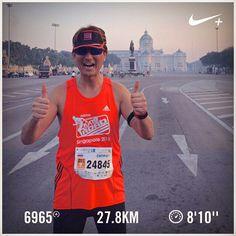 สวสด! Barry is running... #barryisrunning  #Bangkokmarathon #scbm2015 #StandardCharteredBangkokMarathon2015  #run #runsg #nikeplus #running #runhappy #runnerscommunity #runnerinspiration #runforabettertomorrow #AmigosRunning #correr #Corrida #instarun #instarunner #iphonerunner #iphoneonly #marathontraining #wearetherunners #coolrun #worlderunners #brooks #brookstranscend2