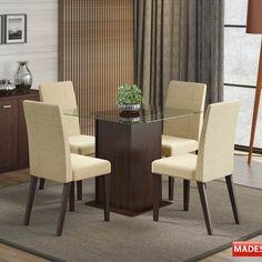 Gostou desta Mesa de Jantar 4 Lugares de Vidro Taís Marrom - Madesa, confira em: https://www.panoramamoveis.com.br/mesa-de-jantar-4-lugares-de-vidro-tais-marrom-madesa-5793.html