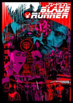 """kogaionon: """" Blade Runner by Ciarán O Donovan """""""