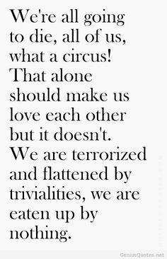 Quote About Death Pinjelly Fish On Quotes  Citations  Pinterest  Quote Citation