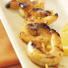Wednesday Dinner Winner: Honey Grilled Shrimp
