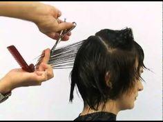 Aprenda o passo a passo corte cabelo curto com mechas