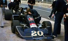 "Jacques Bernard ""Jacky"" Ickx (BEL) (Walter Wolf Racing), Wolf-Williams FW05…"