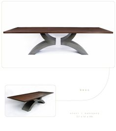 When you slide yourself up to a dining table that table should embrace you with a spirit of creativity and sense of inherent quality. Contemporary Dining Table, Dining Tables, House, Furniture, Design, Home Decor, Houses, Kitchen Dining Tables, Dining Room Tables