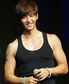 Song Jae Rim at a fan meeting in Taiwan