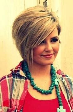 21 Adorable Asymmetrical Bob Hairstyles for 2016: #10. Asymmetrical bob with long from layer bangs (for thick hair)