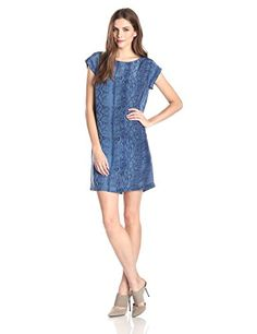Joie Women's Weaver Silk Python Print Shift Dress
