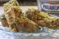 Dill-icious Philly Dillys~ a party hit Side Recipes, Snack Recipes, Cooking Recipes, Appetizer Recipes, Fried Dill Pickles, Bacon Wrapped Smokies, Apple Chutney, Popular Appetizers, Tasty Kitchen