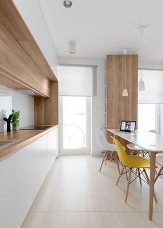 34 Fancy Scandinavian Kitchen Interior Ideas Which Will Make You Stunned. Gain More Uncommon Scandinavian Kitchen Interior Ideas Timber Kitchen, New Kitchen, Kitchen Decor, Kitchen Ideas, Kitchen White, Kitchen Photos, Slate Kitchen, Kitchen Rules, Rental Kitchen