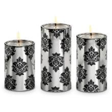 Forbidden Romance Large Tealight Trio