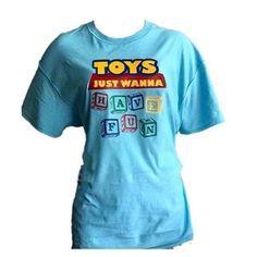 Toys Just Wanna Have Fun Run Disney Costumes, Running Costumes, Plus Size Disney, Disney Style, Cotton Tee, Toys, Cricket, Fun, Mens Tops