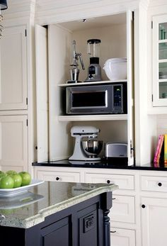 how to hid appliances on countertops - - Yahoo Image Search Results