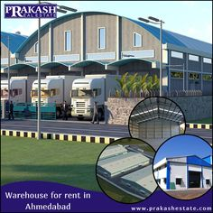 Are you Looking for a warehouse for rent? We ensure you the best profitable warehouse for rent/lease deal as per your specific requirement.  http://www.prakashestate.com/warehouse  #WarehouseforRent #PropertyConsultant #Ahmedabad
