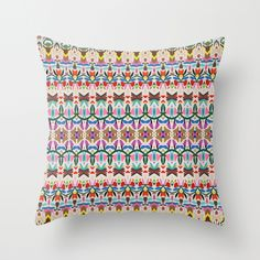 Heart of Passion Throw Pillow by Katie Wohl | Society6