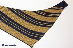 Bryum by Cailliau Berangere, knitted by dangoumette | malabrigo Sock in Cote D Azur and Ochre