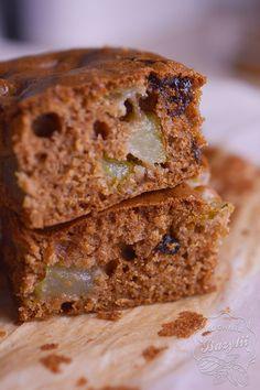 Proste ciasto z gruszkami - idealne ciasto na jesień Banana Bread, Food And Drink, Sweet Recipes