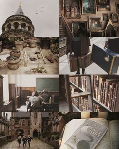 "wizarding schools: Hogwarts School of Witchcraft and Wizardry "" Established around the 10th century, Hogwarts is located in the Highlands of Scotland near a loch. To Muggles, the school looks like an old abandoned castle. """