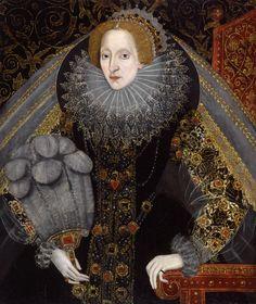 Queen Elizabeth I - namesake for Virginia