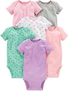 f8047543fab3 Amazon.com  Luvable Friends Baby 3 Pack Cotton Gown