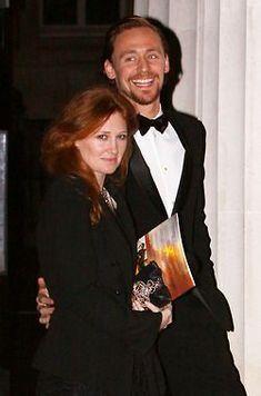 Tom Hiddleston | With sister Sarah Hiddleston | Tom Hiddleston Archive...BEAUTIFUL FAMILY!!