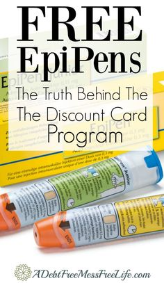Can you really get EpiPens for free? Learn what it really takes to get the discount card and be able to use it with your insurance.