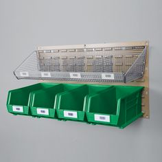Large Louvered Bin Panel, 36x19 Item #(1425)    •Use to store processed outgoing orders awaiting delivery. Simply remove bins from panels and place on bin carts for transport to outside areas. •Use for storing dispensing supplies (bags, labels, forms, stamps, etc.). •Click the Product Info Icon below to view the accessories that are compatible with this product.