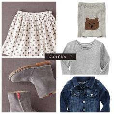Outfit 7 - toddler girl outfit idea for autumn 13