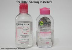 City Life : Battle: Bioderma vs Garnier How To Remove, How To Make, City Life, Battle, Skincare, Skin Care, Skin Treatments