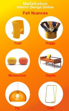 A #fall selection of #design products we love and sell. #Trioli by #Magis  #Huggy by #LAGO #Marocchino by #Campeggi #Ospite by #Campeggi #Fly by #Kartell #Caio by #Miniforms www.malfattistore.it   #polyvore