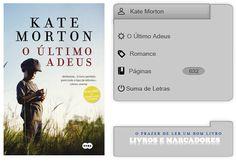 Livros e marcadores: O Último Adeus de Kate Morton