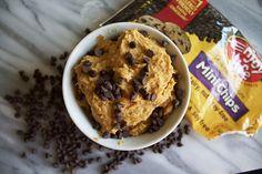 Cookie Dough Hummus with Enjoy Life Baking Chocolate