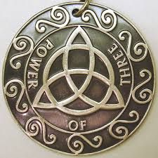 """Triquetra symbol - Celtic - Latin meaning """"three-cornered."""" It's a holy symbol, and it's meanings are many. It varies in its aspects of spirit, nature, being-ness, and of the cosmos."""