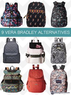05d01c7bd03 10 Best Women s Backpacks for Work that are Sophisticated and Smart. Cute  Backpacks For CollegeCampus StyleQuilted BackpacksVera Bradley