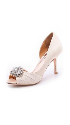 1f8764cba7c1 Badgley Mischka Pearson Open Toe Pumps. Gloria Nykl · Wedding shoes
