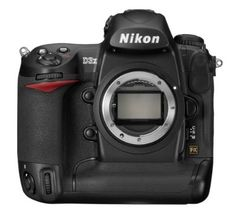 Nikon D3X 24.5MP FX CMOS Digital SLR with 3.0-Inch LCD (Body Only)