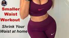 Get your waist smaller in less this 10 minutes with this smaller waist workout routine created specifically to target both the waist and hips. Curves Workout, Hip Workout, Workout Videos, Workouts, Workout Exercises, Small Waist Big Hips, Thin Waist, Smaller Waist Bigger Hips, Leg Raise Exercise