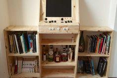 La magnifique borne d'arcade – bar – bibliothèque de Ufunk