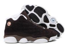 save off 64e4a c71c9 Air Jordans 13 (XIII) Fluffy Flints Brown White Retro Jordans, Nike Air  Jordans