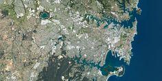Sydney, Australia - PlanetSAT satellite image