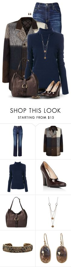 """""""Simply Classy (11.19.17)"""" by stylesbymimi ❤ liked on Polyvore featuring AG Adriano Goldschmied, Stephan Schneider, Dondup, Prada, MICHAEL Michael Kors, Ornamental Things, Avon and Solow"""
